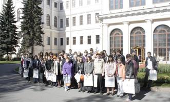 Май 2011 года. Фото участников первенства Санкт-Петербурга по компьютерной графике